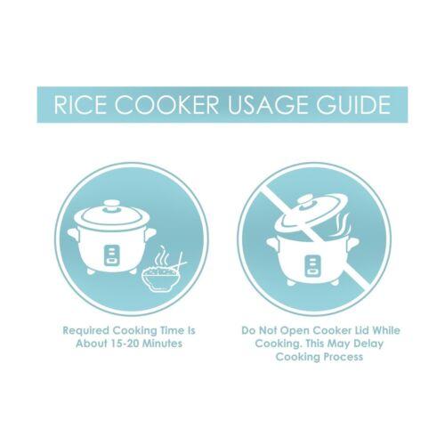 Riz Cuisinière Blanc cuite non cuits Aroma Simply Acier Inoxydable 3-Cup 6-Cup