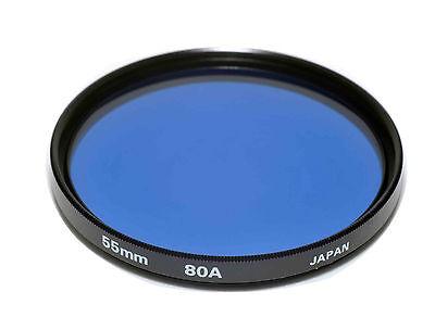 Estilo De Moda Kood 80a Filtro Fabricado En Japón 55mm Filtro De Vidrio De Alta Calidad