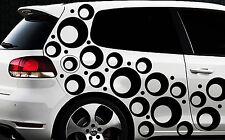 85 Retro Kreise Dots Sterne Auto Aufkleber Sticker Stylin Wandtattoo Tribels