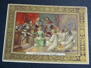 Card Chromo Chocolat Phoscao Eustace Of st Pierre