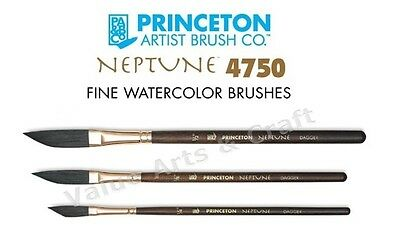 3//8 Princeton Neptune Synthetic Squirrel Brushes Daggers