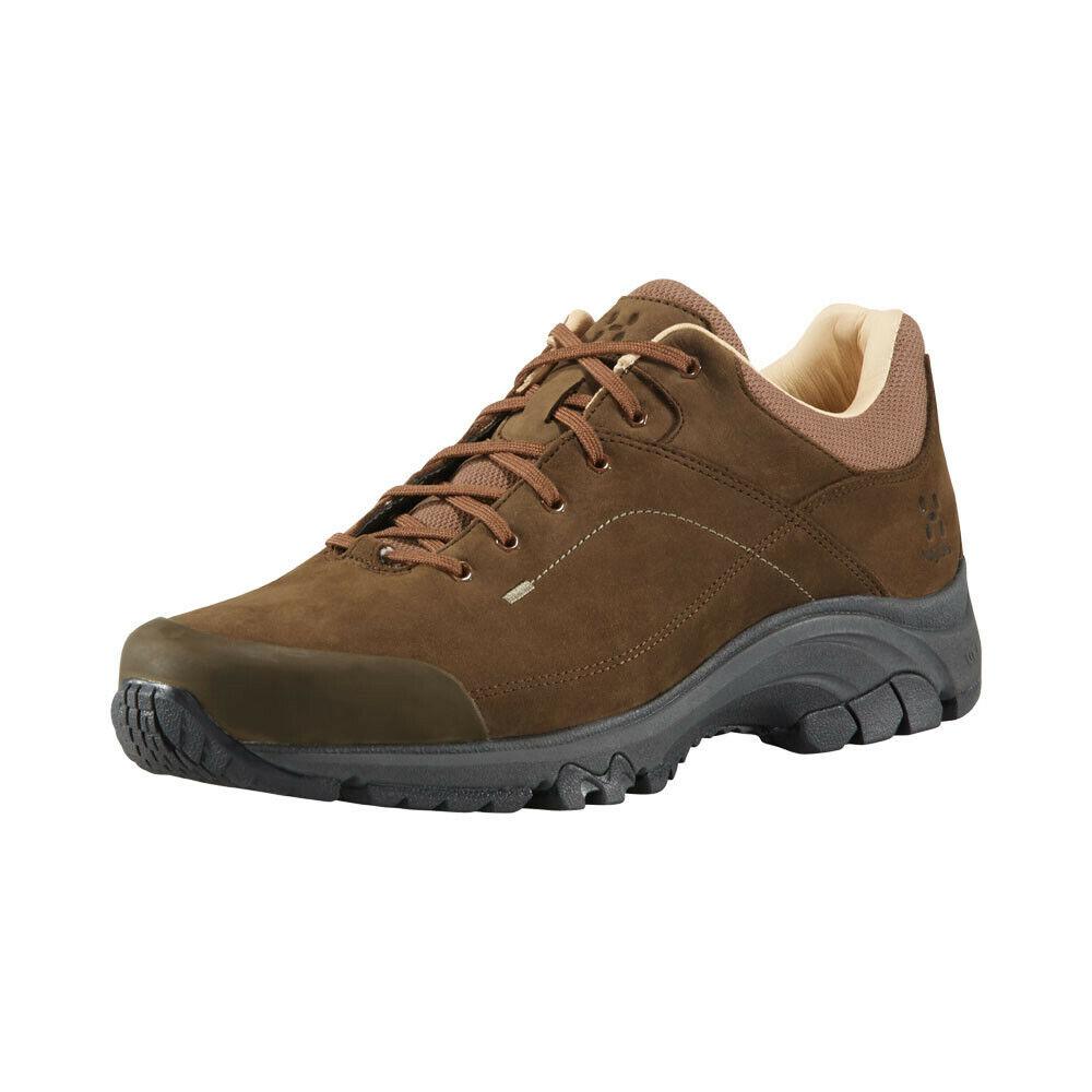 Haglofs Herren Ridge Leather Walking schuhe braun Sport Waterproof Breathable