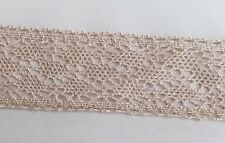 5 Yards Vintage Cotton Crochet Trims Lace Edge Trim Craft Ivory Cream 5W Edging