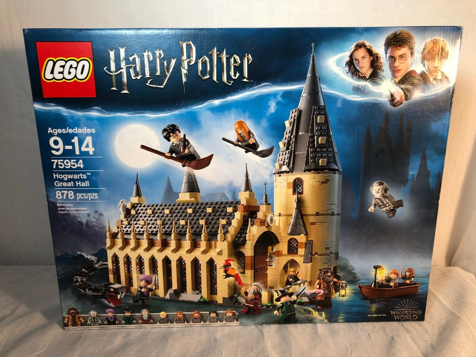 New Lego Harry Potter Hogwarts Great Hall Advanced Building Kit 75954 Brand New