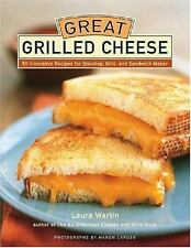 Great Grilled Cheese: 50 Innovative Recipes for Stove Top, Grill, and-ExLibrary