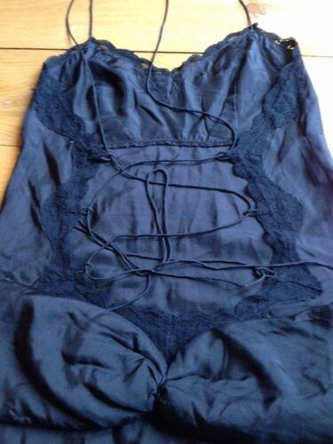 Vestido Tm seda Manoush de de sin negro espalda rnrO8B1qw