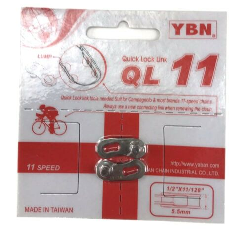 QRs 9 QRs10//11 YBN Quick Release Chain Links  Chain Missing Master QRs 7.8