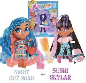Hairdorables-Series-3-Sushi-Skylar-Night-Out-Noah-Dolls-NEW