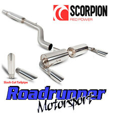 Scorpion Clio 197 Exhaust Sport System Stainless Cat Back Res Quieter Slash Tail
