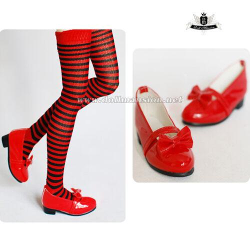 1//4 BJD Shoes MSD Dollfie DREAM bow Lolita Shoes MID EID DZ LUTS SOOM Shoes 0322