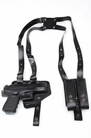 Leather Shoulder Holster For Glock 19 / 23 - ( 639)