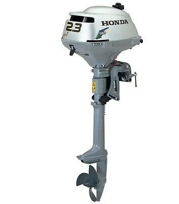 """New Honda Outboard 2.3 hp 15"""" shaft 4-stroke m/n BF2.3DHSCH free shipping"""