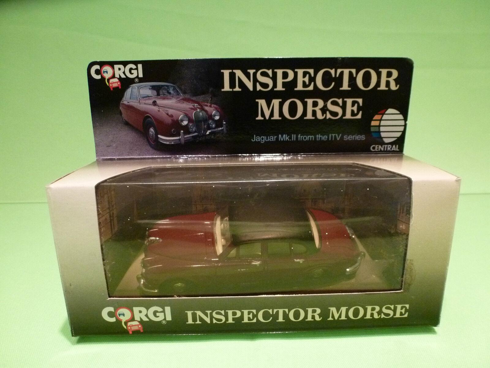 CORGI TOYS 96682 JAGUAR MK II - TV SERIES INSPECTOR MORSE - RARE SELTEN - NMIB