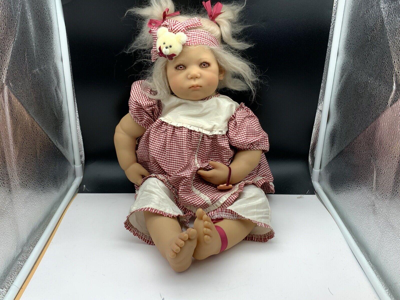 Annette Himstedt Doll Baby Lieschen 55 cm. Ovp & Zertifikat. Top Zustand.