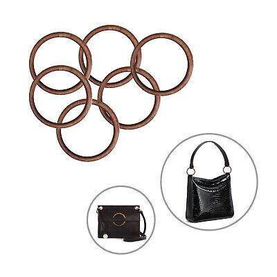 45mm O Ring Acrylic Brown Heavy Duty Chokar Collar Buckle DIY Purse Bag Backpack