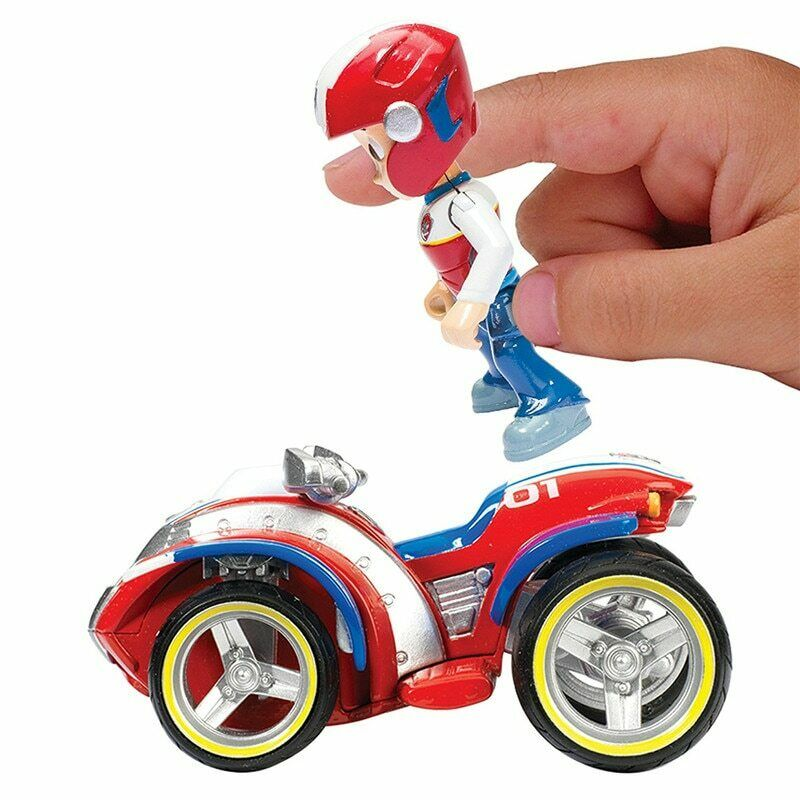 Paw Patrol Mission Figure and Vehicle Rocky's Repair Kart