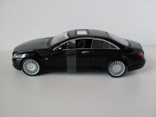 Neu Mercedes Benz CL 550 schwarz Bburago Street Fire 1:32 OVP