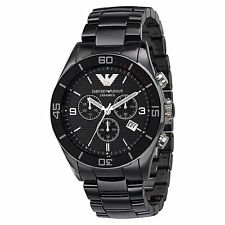 item 7 NEW AUTHENTIC EMPORIO ARMANI BLACK CERAMICA CERAMIC CHRONOGRAPH  WATCH-AR1421 -NEW AUTHENTIC EMPORIO ARMANI BLACK CERAMICA CERAMIC  CHRONOGRAPH WATCH- ... a46d7b5c20
