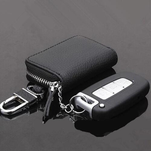1PC Car Key Chain Key rings Pocket Storage Wallet Holder Zipper Bag Case Cover S