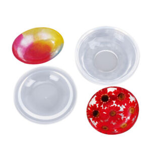 Dish-Bowl-Shape-Epoxy-Resin-Mold-Transparent-Silicone-Mould-Craft-DIY-T-Hw