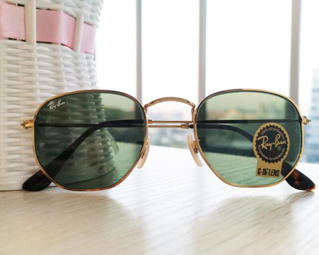 ray ban aviator green polarized gold frame sunglasses
