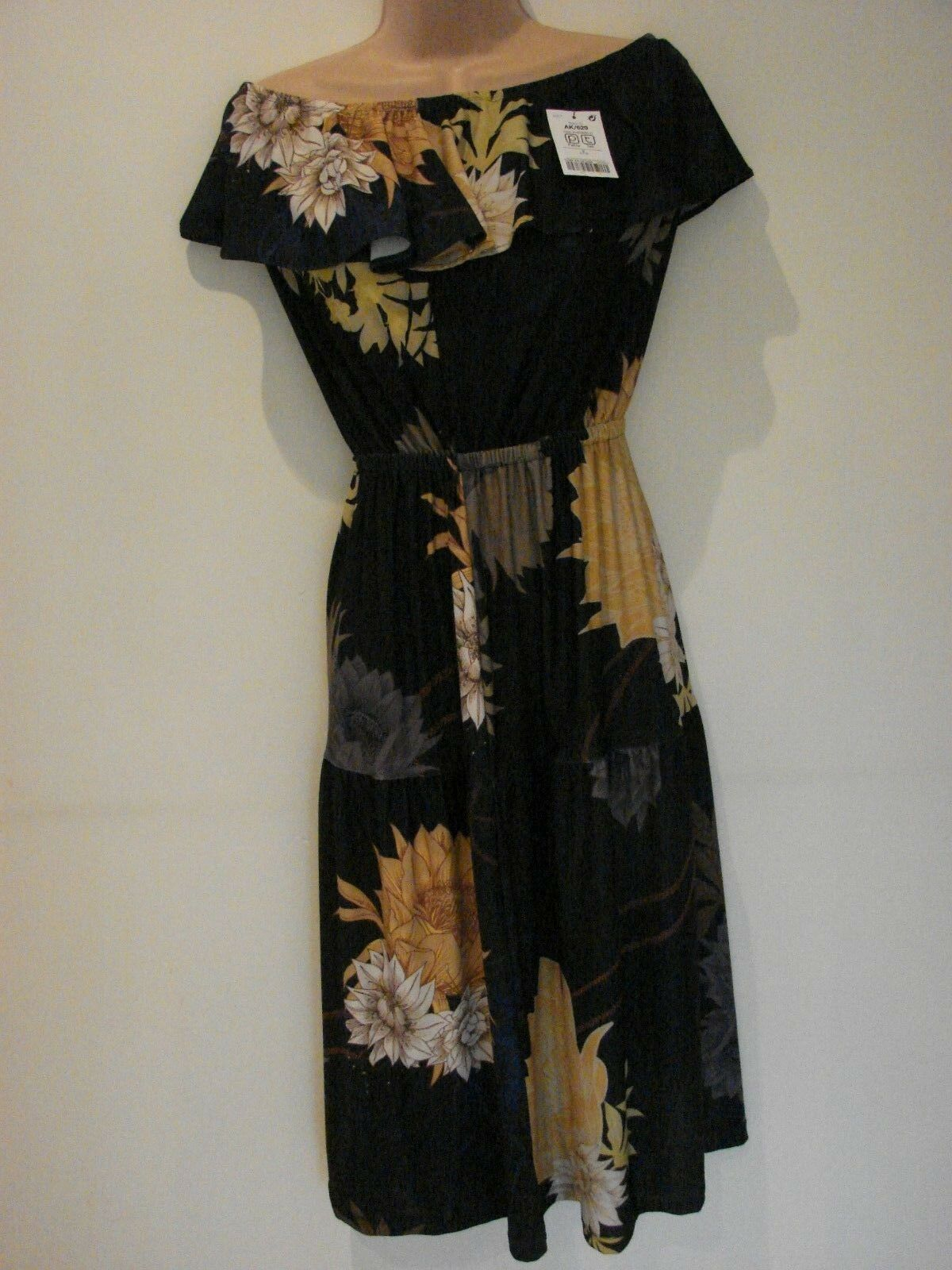 NEXT Floral Off the Shoulder Frill Party Dance Summer Dress(NEW) Size 8 ()