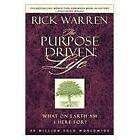 The Purpose Driven Life by Rick Warren (2002, Hardcover)