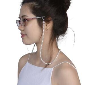 Pearl-Beaded-Eyeglass-Spectacle-Reading-Glasses-Chain-Holder-Neck-Cord-Strap-BG