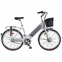 Benelli Classica 26 in. Vintage Style E-Bike Cruiser with Pedal Assist