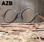 Unisex-Clear-Lens-Acetate-Wood-grain-Frame-Eyeglasses-Round-Retro-Glasses-Hot thumbnail 2
