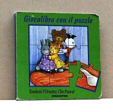 GIOCALIBRO CON IL PUZZLE - Tombolo l'orsetto: che paura! [Libro, DeAgostini]