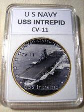 US NAVY - USS INTREPID CV-11 Challenge Coin
