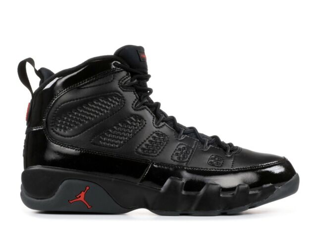 womens Air jordan 9 Nike Air Jordan 9 Retro IX Bred Black Red Patent Leather AJ9 PE ...