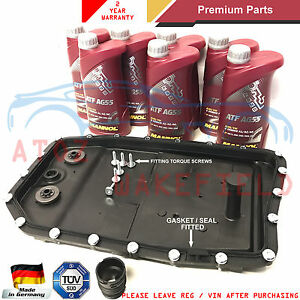 Details about FOR BMW 3 5 6 7 SERIES X3 X5 AUTOMATIC TRANSMISSION SUMP PAN  FILTER 7L OIL KIT