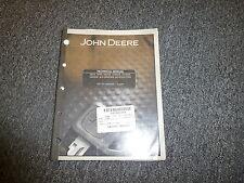 John Deere G5500K G5500KE Generator Technical Repair Service Shop Manual TM1791