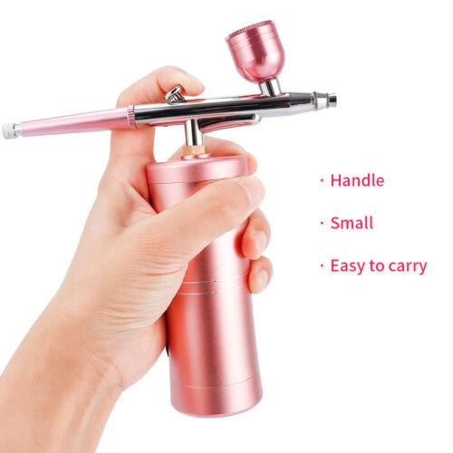 Mini Portable Airbrush Compressor Kit Spray Gun Tattoo Paint Nail Art Air Brush