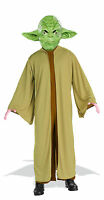 Yoda Kids Costume Star Wars Robe Jumpsuit And Mask Size Large 12-14