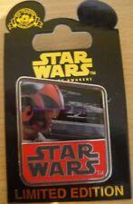 Disney Star Wars The Force Awakens Pin Countdown # 2 POE DAMERON LE 10,000 - NOC
