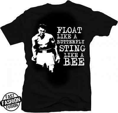 American Classics Muhammad Ali Float Like A Butterfly T-Shirt Royal
