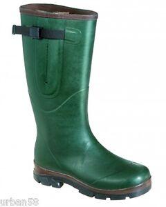 Details zu Neopren Damen Gummistiefel Jagd Thermo Stiefel Pferdesport Outdoor grün 37 41