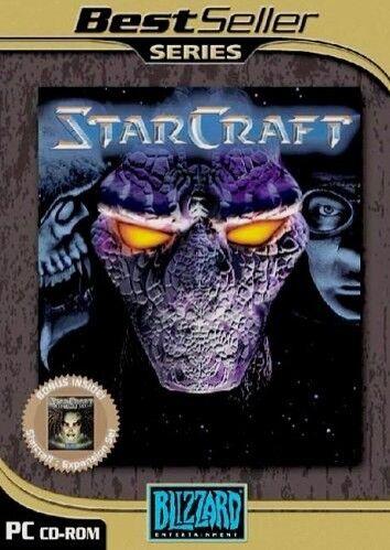 1 of 1 - Starcraft Full Game & Brood War Expansion - PC & MAC
