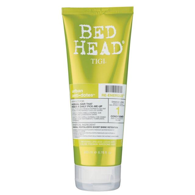 TIGI Bed Head Re-Energize Balsamo 200 ML idratante e rinforzante