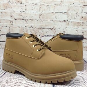 Details about FILA Women's Luminous Boots Size 10 Wheat Trail Working Hiking Shoes