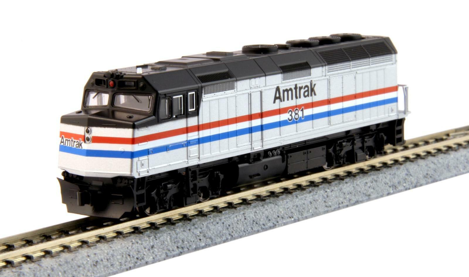 Kato N 176-6107 EMD F40PH (As Built) Amtrak Phase III Road DCC Ready New