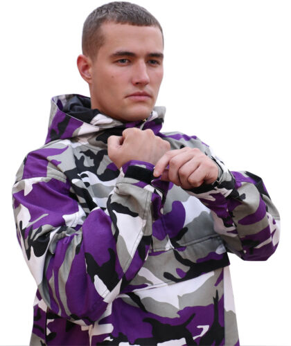 pour camouflage camouflage Rothco ultra vent violet Manteau coupe hommes nqPzZaTzw