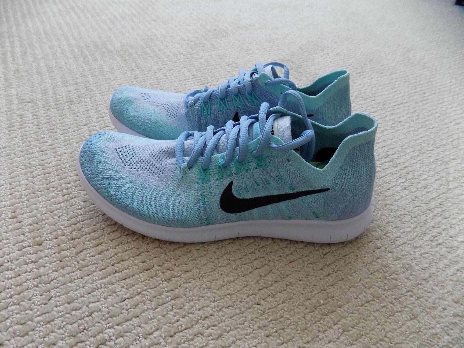 desinfectante A rayas mudo  WMNS Nike RN Flyknit 4.0 Run Blue Black Womens Running 831070-401 9 for  sale online   eBay