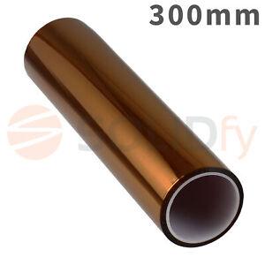 300mm-Polyimide-Tape-Hitzebestaendiges-Klebeband-Polyimid-Kapton-3D-Drucker-33m