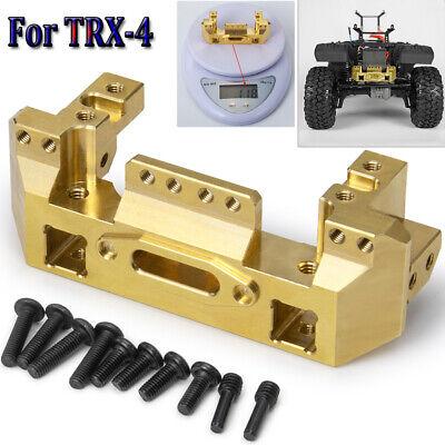 Heavy Duty Brass Front Bumper Servo Mount For TRAXXAS TRX-4 1//10 RC Crawler Car