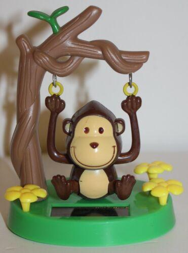 nouveauté Jouets Stocking Filler 57//9748 1 x à énergie Solaire Dansant Swinging Monkey