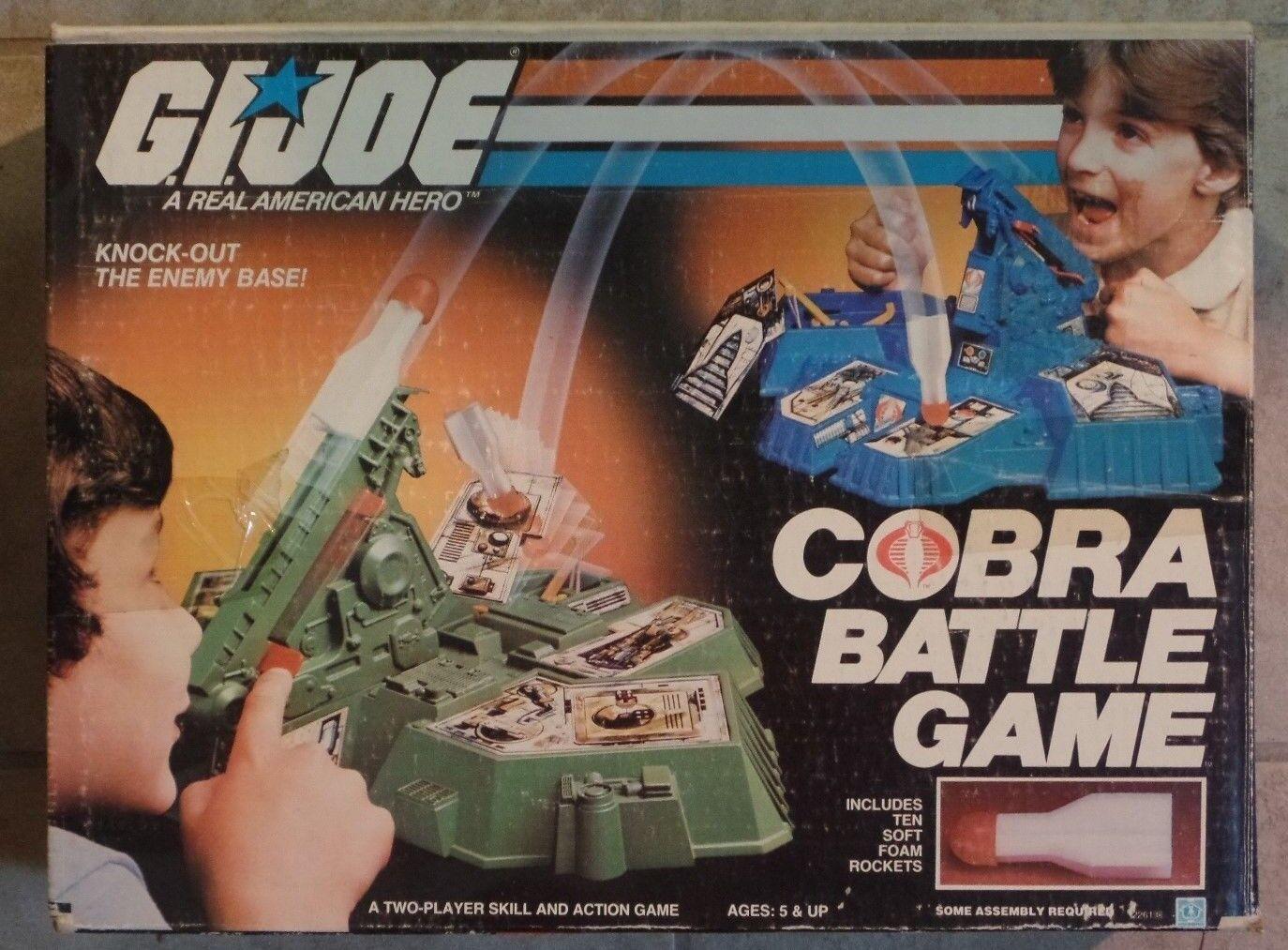 GI JOE COBRA BATTAGLIA giocoS NUOVO IN SCATOLA SIGILLATO Contenuto Hasbro 1982